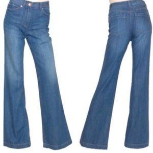 Theory High Waist Flare Jeans NWT Runs SMALL!